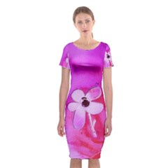 Floralpi Classic Short Sleeve Midi Dress