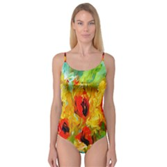 Sunflowers  Camisole Leotard