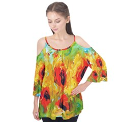 Sunflowers  Flutter Tees