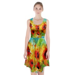 Sunflowers  Racerback Midi Dress