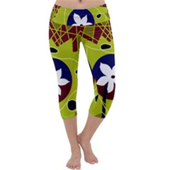 Big Bang Capri Yoga Leggings
