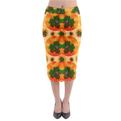 Want To Put Them Back On The Tree Midi Pencil Skirt