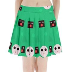 Audience  Pleated Mini Skirt
