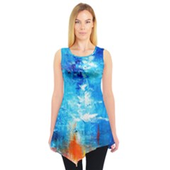Wild Sea Themes Art Prints Sleeveless Tunic