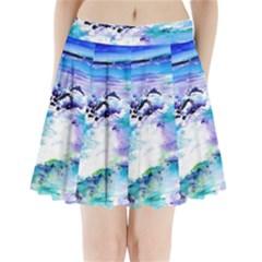 Seascap124 Pleated Mini Skirt
