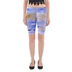 Sea Sky Print  Yoga Cropped Leggings