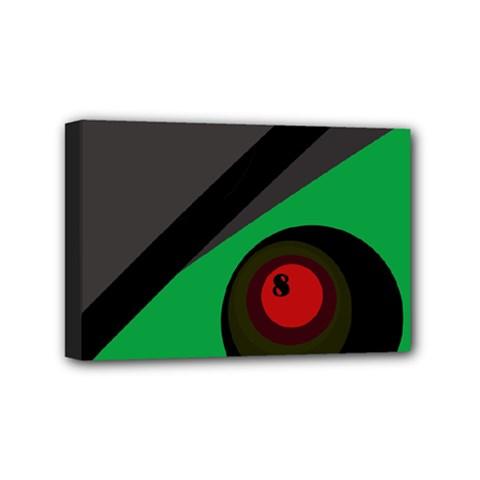 Billiard  Mini Canvas 6  x 4