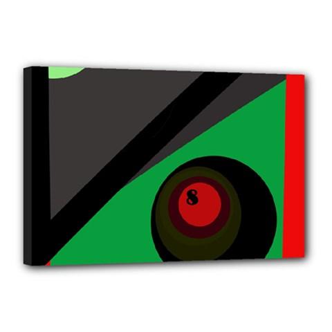 Billiard  Canvas 18  x 12