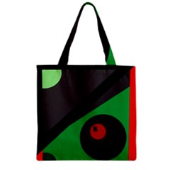 Billiard  Zipper Grocery Tote Bag