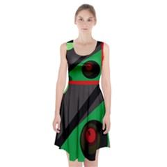 Billiard  Racerback Midi Dress