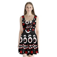 Madness  Split Back Mini Dress