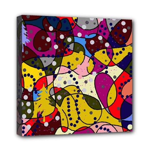 New Year Mini Canvas 8  x 8