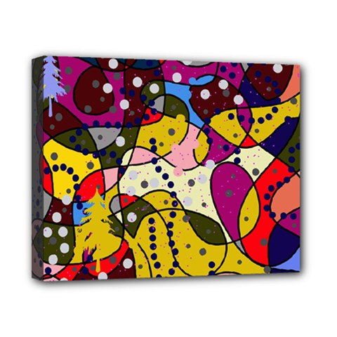 New Year Canvas 10  x 8
