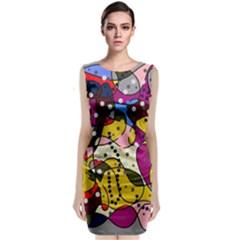 New Year Classic Sleeveless Midi Dress