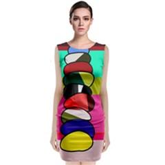 Zen Classic Sleeveless Midi Dress