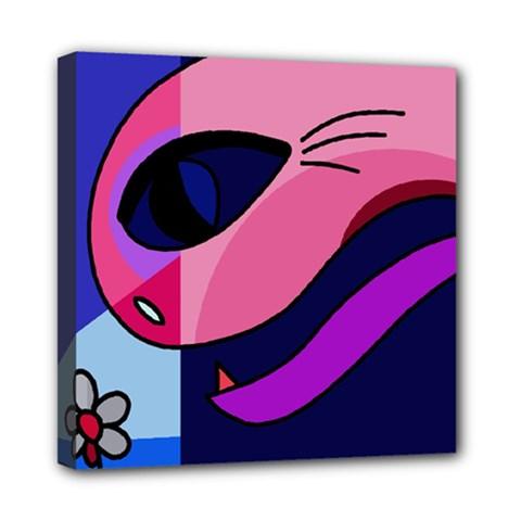 Strange love Mini Canvas 8  x 8