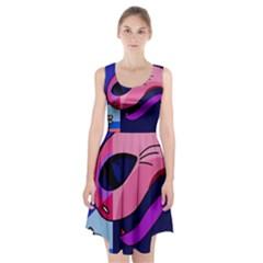 Strange love Racerback Midi Dress