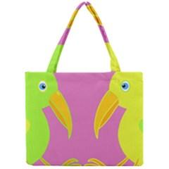 Parrots Mini Tote Bag
