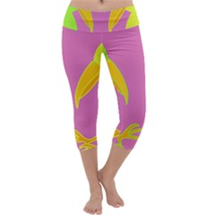 Parrots Capri Yoga Leggings