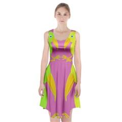 Parrots Racerback Midi Dress