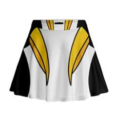 Ravens Mini Flare Skirt