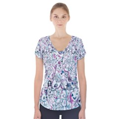 LVB Random Fan Request Short Sleeve Front Detail Top