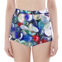 Random Baubles High-Waisted Bikini Bottoms