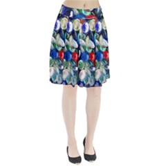 Random Baubles Pleated Skirt
