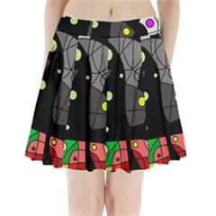 Optimistic Decor Pleated Mini Skirt