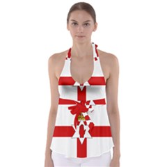 Ulster Banner Babydoll Tankini Top