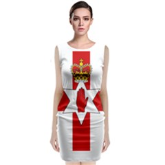 Ulster Banner Classic Sleeveless Midi Dress
