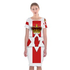 Ulster Banner Classic Short Sleeve Midi Dress
