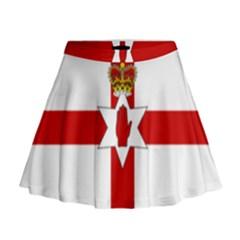 Ulster Banner Mini Flare Skirt