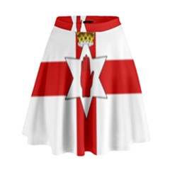 Ulster Banner High Waist Skirt