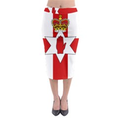 Ulster Banner Midi Pencil Skirt