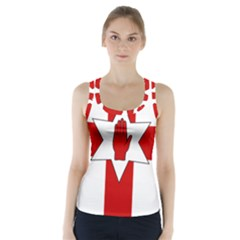 Ulster Banner Racer Back Sports Top