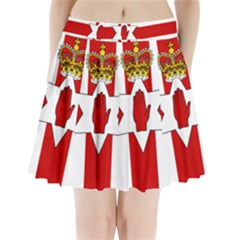 Ulster Banner Pleated Mini Skirt