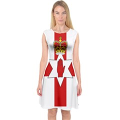 Ulster Banner Capsleeve Midi Dress