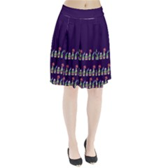 Dress Cute Cactus Blossom Pleated Skirt