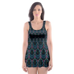 Nightcrawler Skater Dress Swimsuit