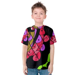 Elegant Abstract Decor Kid s Cotton Tee