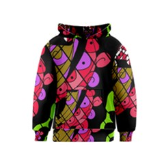 Elegant abstract decor Kids  Pullover Hoodie