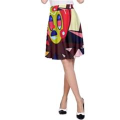Octopus A-Line Skirt
