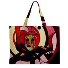 Octopus Zipper Mini Tote Bag