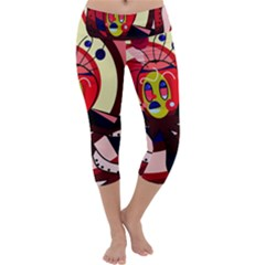 Octopus Capri Yoga Leggings