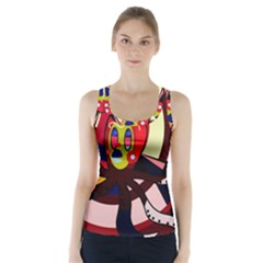 Octopus Racer Back Sports Top