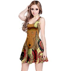 Billy goat Reversible Sleeveless Dress
