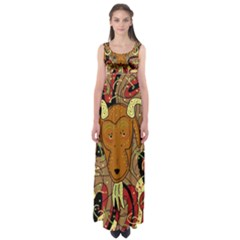 Billy goat Empire Waist Maxi Dress
