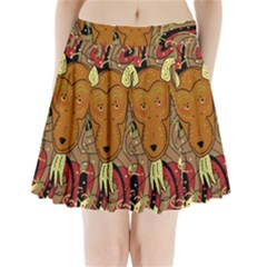 Billy goat Pleated Mini Skirt