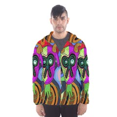 Colorful goat Hooded Wind Breaker (Men)